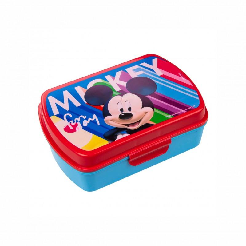 Детска кутия за хранаMickey Mouse (Мики Маус) за момчета. - MK18001 - view 1