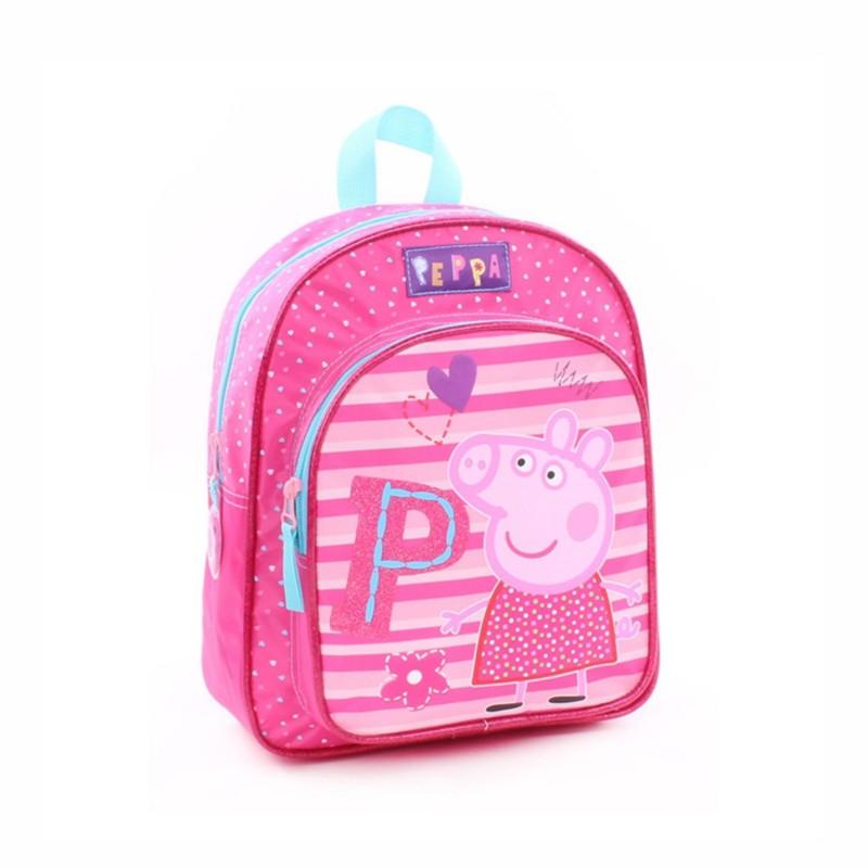 Детска раница Peppa Pig (Прасето Пепа) 28см за момичета - 007-8528 - view 1