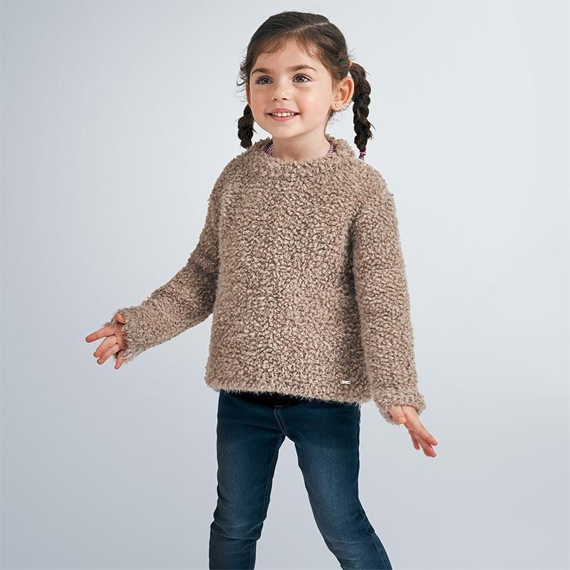 Пуловер Mayoral с косъм за момиче - 4346-074 - view 1