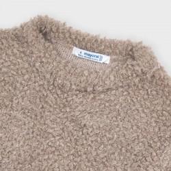 Пуловер Mayoral с косъм за момиче - 4346-074 - view 4