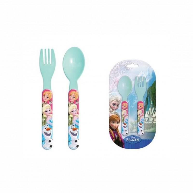 Детски комплект прибори за храненеFrozen (Замръзналото кралство) за момичета. - RNA101497 - view 1