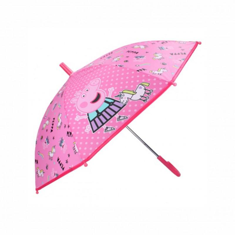 Детски чадърPeppa Pig (Прасето Пепа) 85см. за момичета - 007-1425 - view 1