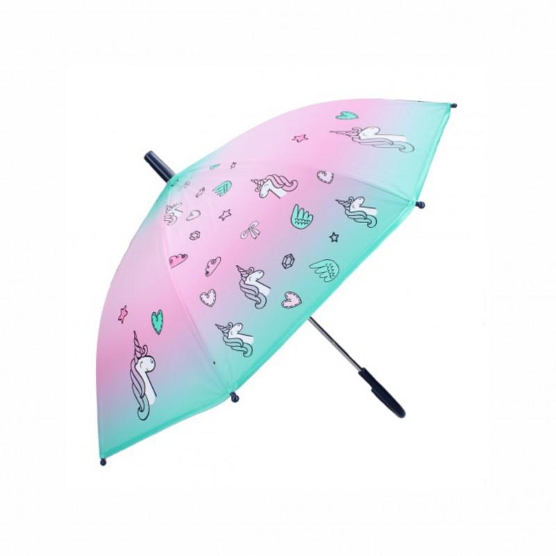 Детски чадърUnicorn (Еднорог) 85см. за момичета - 037-1427 - view 1