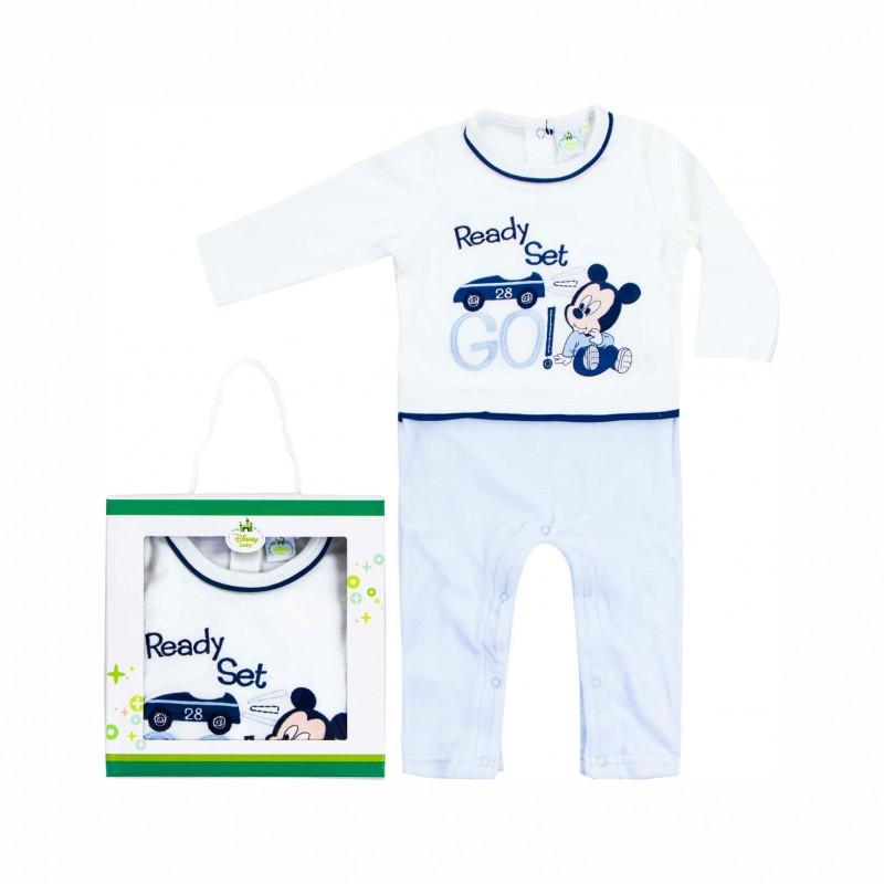 Бебешки гащеризон Mickey Mouse (Мики Маус)за момчета. - HQ0012 - view 1