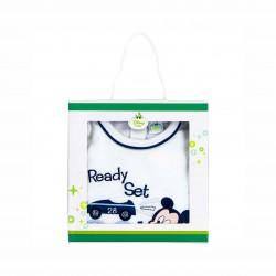 Бебешки гащеризон Mickey Mouse (Мики Маус)за момчета. - HQ0012 - view 3