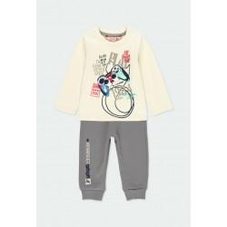 Комплект Boboli с тениска... - 331164-7362 - view 1