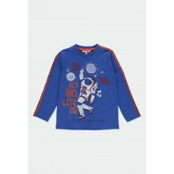 Тениска Boboli с дълъг ръкав - 521020-2478 - view 1