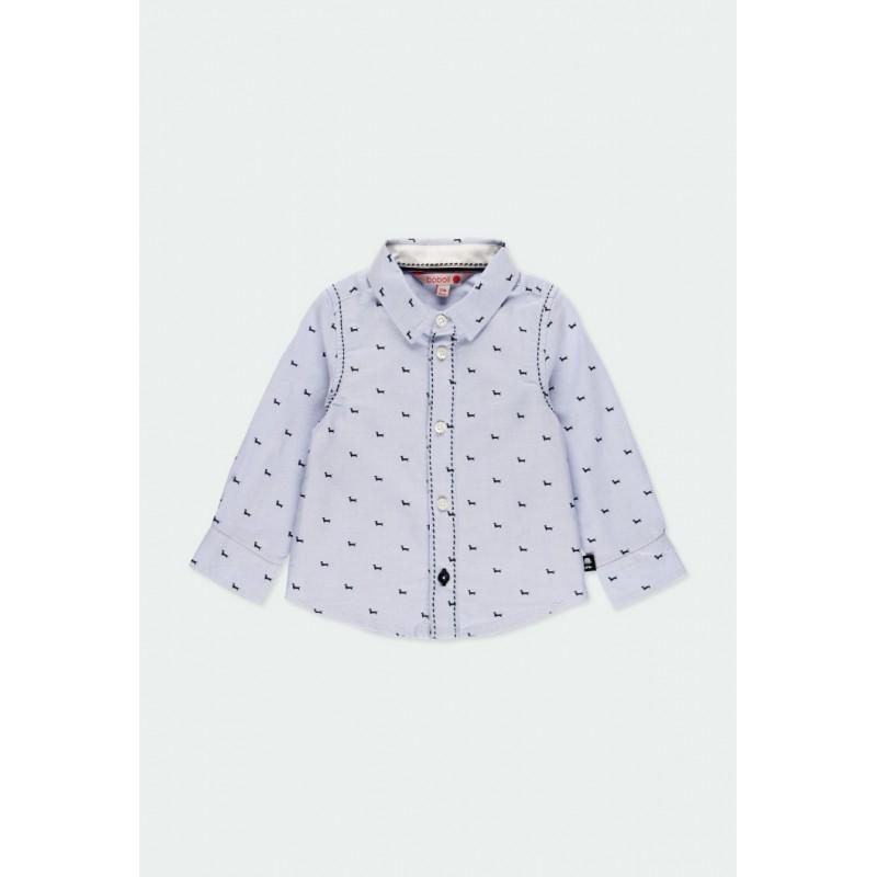 Риза Boboli с дълъг ръкав за момчета - 711234-9382 - view 1