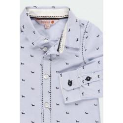 Риза Boboli с дълъг ръкав за момчета - 711234-9382 - view 2