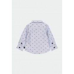 Риза Boboli с дълъг ръкав за момчета - 711234-9382 - view 3