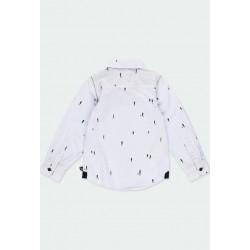 Риза Boboli с дълъг ръкав за момчета - 731304-9396 - view 2