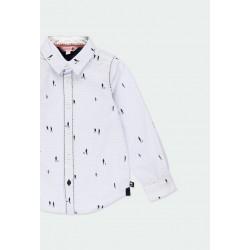 Риза Boboli с дълъг ръкав за момчета - 731304-9396 - view 3