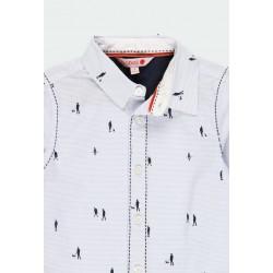 Риза Boboli с дълъг ръкав за момчета - 731304-9396 - view 4