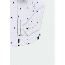 Риза Boboli с дълъг ръкав за момчета - 731304-9396 - view 5