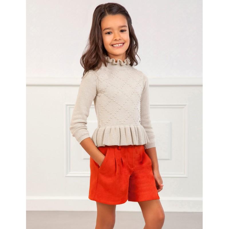 Пуловер Abel & Lula за момичета - 5817-084 - view 1