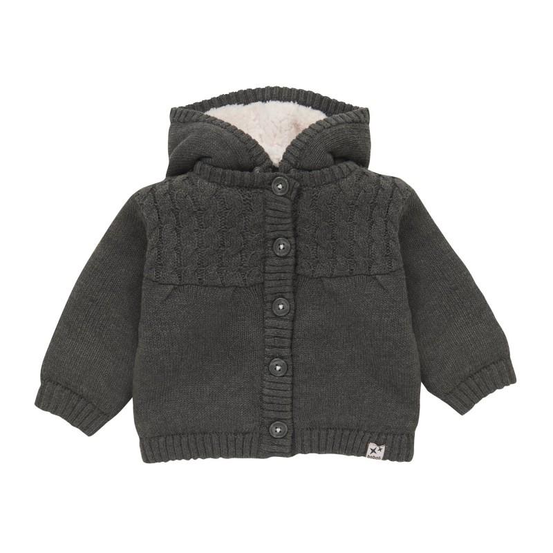 Дебела жилетка тип яке Boboli за бебе момиче - 101169-7365 - view 1