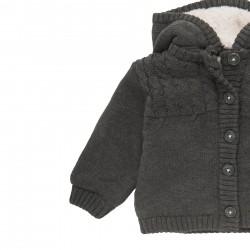 Дебела жилетка тип яке Boboli за бебе момиче - 101169-7365 - view 3