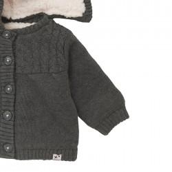 Дебела жилетка тип яке Boboli за бебе момиче - 101169-7365 - view 6