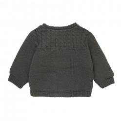 Дебела жилетка тип яке Boboli за бебе момиче - 101169-7365 - view 8