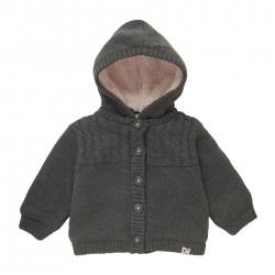 Дебела жилетка тип яке Boboli за бебе момиче - 101169-7365 - view 9