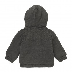 Дебела жилетка тип яке Boboli за бебе момиче - 101169-7365 - view 10