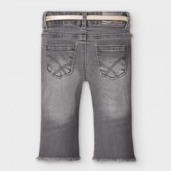 Дълъг дънков панталон Mayoral тип чарлстон за бебе момиче - 2590-081 - view 2