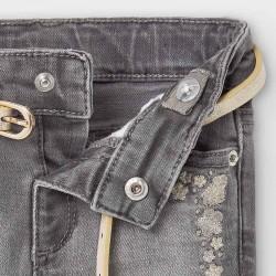 Дълъг дънков панталон Mayoral тип чарлстон за бебе момиче - 2590-081 - view 4