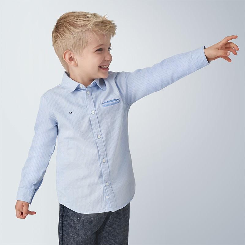 Риза Mayoral с дълъг ръкав фантазия за момче - 4140-038 - view 1