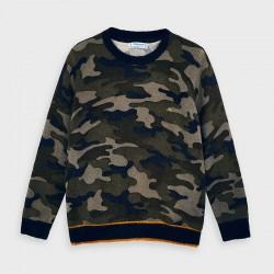 Пуловер Mayoral с камуфлажна щампа за момче - 4327-085 - view 2