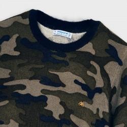 Пуловер Mayoral с камуфлажна щампа за момче - 4327-085 - view 3