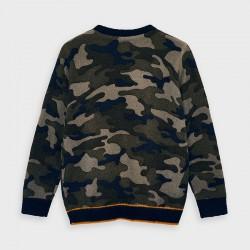 Пуловер Mayoral с камуфлажна щампа за момче - 4327-085 - view 4
