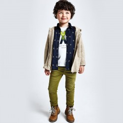 Дълъг панталон slim fit Mayoral за момче - 4533-019 - view 1