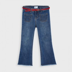 Панталон тип чарлстон с колан Mayoral за момиче - 4549-069 - view 2