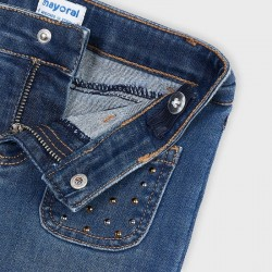 Панталон тип чарлстон с колан Mayoral за момиче - 4549-069 - view 4
