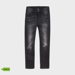 Дънков панталон loose fit Mayoral с разрези за момче - 7530-045 - view 1