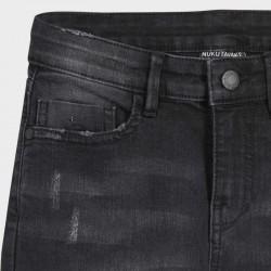 Дънков панталон loose fit Mayoral с разрези за момче - 7530-045 - view 4