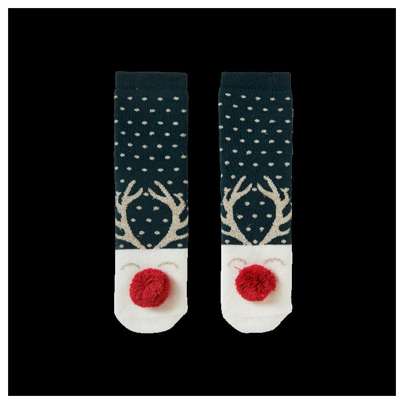 Коледни чорапи Boboli за момчета/момичета - 961130-4535 - view 1