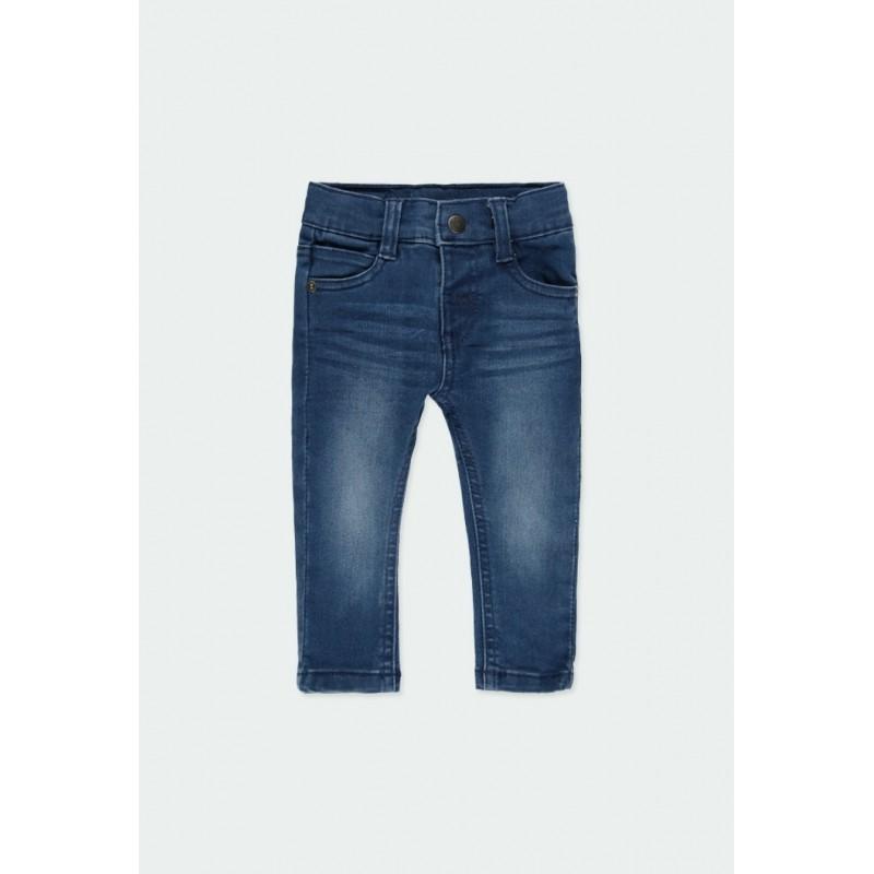Детски дълги дънки Boboli за момче - 390002-BLUE - view 1