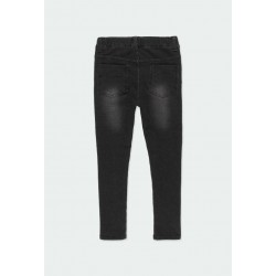 Дълги дънки jeggings Boboli за момичета - 490014-BLACK - view 2