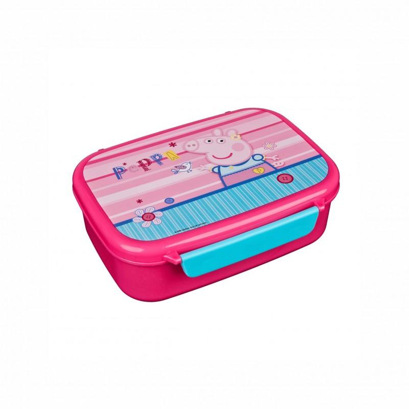 Детска кутия за храна Peppa Pig (Прасето Пепа) за момичета - PIGP9903 - view 1