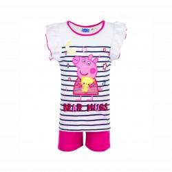 Пижама Peppa Pig с къс ръкав