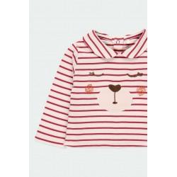 Детски комплект Boboli със суитчър и панталони за бебе момиче - 121037-9363 - view 6