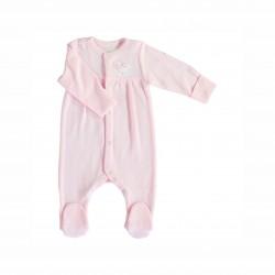 Бебешки комплект за изписване Bebetto от 10 части в розово за момичета. - Z666 - view 6
