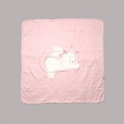 Бебешки комплект за изписване Bebetto от 10 части в розово за момичета. - Z666 - view 2