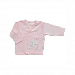 Бебешки комплект за изписване Bebetto от 10 части в розово за момичета. - Z666 - view 4
