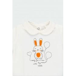 Комплект Boboli с тениска дълъг ръкав и гащички - 131005-1111 - view 7