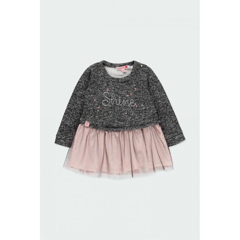 Комбинирана рокля Boboli за момичета - 241052-8116 - view 1