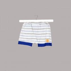 Бебешки комплект Bebetto от 2 части за момчета - тениска с къс ръкав и къси панталони. - K2444 - view 3