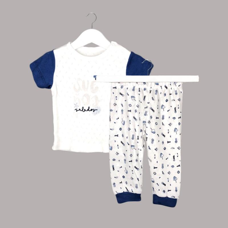 Пижама Bebetto с къс ръкав за бебе момче - F1097 - view 1
