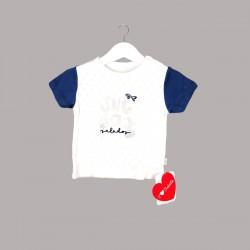 Пижама Bebetto с къс ръкав за бебе момче - F1097 - view 2